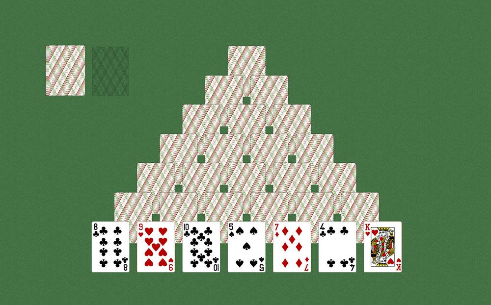 Пирамида правила карточной игры